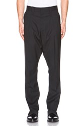Givenchy Pleated Harem Trousers In Black