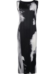 Issey Miyake Pleats Please By 'Tenmoku' Dress Black