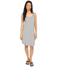 Kavu Leonora Dress Bw Stripe Women's Dress Gray
