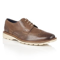 Lotus Since 1759 Sedgewell Lightweight Brogues Brown