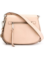 Marc Jacobs 'Recruit' Saddle Crossbody Bag Pink And Purple
