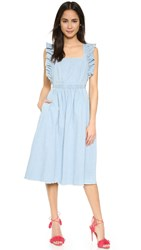 Ulla Johnson Ruth Pinafore Dress Fade