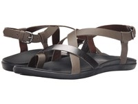 Olukai Upena Charcoal Pewter Women's Sandals