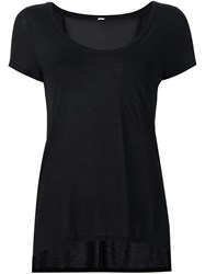 Alo Yoga 'Rise' T Shirt Black