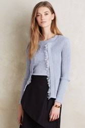 Knitted And Knotted Sadie Ribbed Cardi Lavender
