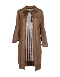 Coast Weber And Ahaus Knitwear Cardigans Women Brown