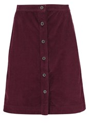Gap Aline Skirt Tuscan Red