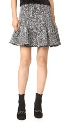 Carven Skirt Gris Chine