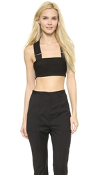 Josh Goot Monochrome Bra Top Black