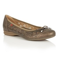 Lotus Relife Justyna Ballet Shoes Bronze