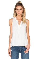 Soft Joie Carley V Neck Tank White