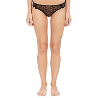 Eres Women's Lace Rivoli Thong Black Blue Black Blue