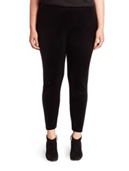 Eileen Fisher Velvet Ankle Leggings Black