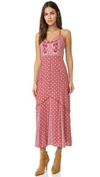 Somedays Lovin Crimson And Clover Maxi Dress Multi