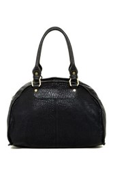 Ella Moss Joni Large Leather Satchel Black