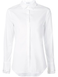 Brunello Cucinelli Layered Cuff Shirt White
