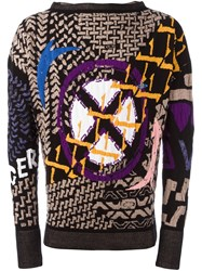 Vivienne Westwood Man Abstract Jumper