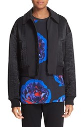 Dkny Women's Reversible Quilted Bomber Jacket