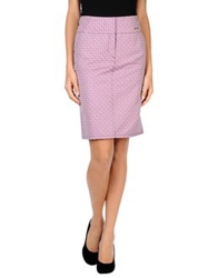 Blu Byblos Knee Length Skirts Pink