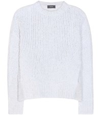 Undercover Cashmere And Wool Blend Knitted Sweater Grey
