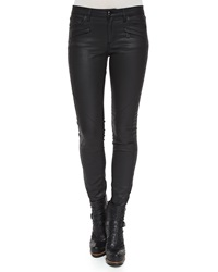 Belstaff Amelie Coated Denim Skinny Pants