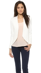 Blaque Label Ivory Blazer White