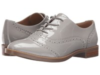 Franco Sarto Imagine Silky Grey Patent Women's Shoes Gray