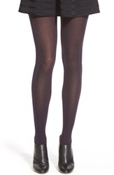 Women's Via Spiga 'Night Sky' Opaque Tights Pomergranate