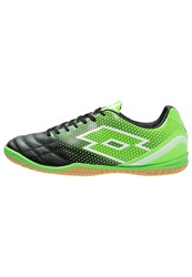 Lotto Spider 700 Xiii Id Indoor Football Boots Black Mint Fluo