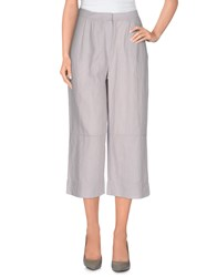 Alpha Studio Trousers 3 4 Length Trousers Women Beige