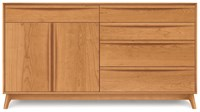 Copeland Furniture Catalina 4 Drawer On Right 1 Drawer Over 2 Door On Left Buffet