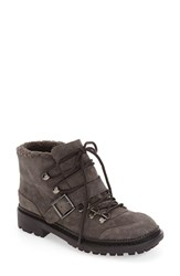 Marc Fisher Women's Fischer Ltd 'Caylyn' Lace Up Boot Grey Suede
