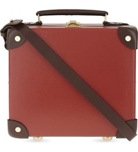 Globe Trotter Centenary 9 Mini Utility Case Red Chocolate