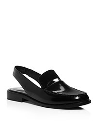 Opening Ceremony Slingback Loafers Black