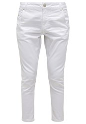 Opus Relaxed Fit Jeans White White Denim