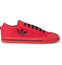 Raf Simons Adidas Originals Spirit Canvas Sneakers Red