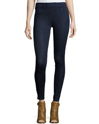 True Religion Runway Mid Rise Leggings Indigo