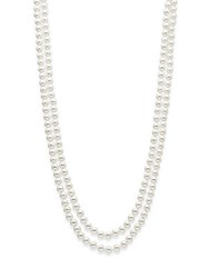 Saks Fifth Avenue 8Mm Simulated Pearl Necklace 72