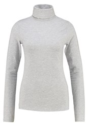 Zalando Essentials Long Sleeved Top Grey