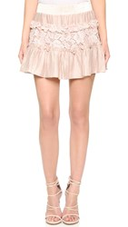 Alexis Mallory Skirt Blush