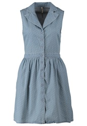 Ltb Celinda Denim Dress Diez Wash Blue