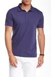 Mason Short Sleeve Jersey Polo Blue