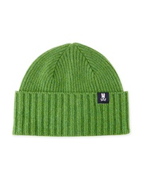 Psycho Bunny Oban Wool Watchman Hat Watercress