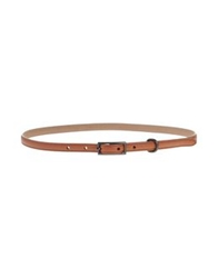 Rochas Belts Brown