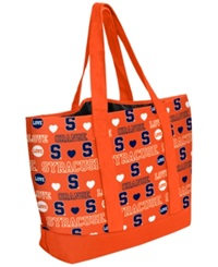 Forever Collectibles Syracuse Orange Tote Bag Navy