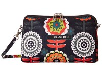 Ju Ju Be Be Set Dancing Dahlias Bags Black