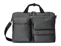 Tumi Dalston Tyssen Double Zip Brief Masonry Grey Briefcase Bags Gray