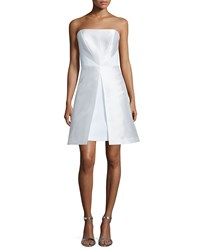 Phoebe Couture Strapless Fit And Flare Cocktail Dress White Women's