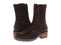 La Canadienne Carolina Brown Oiled Suede Women's Dress Boots