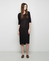 Raquel Allegra Jersey Tee Dress Black